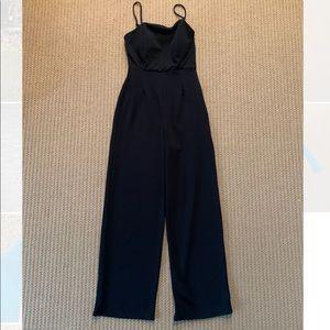 Black small jumpsuit